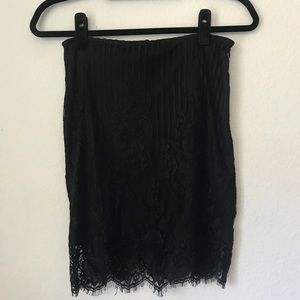 Miss Guided Lace Skirt SZ 12
